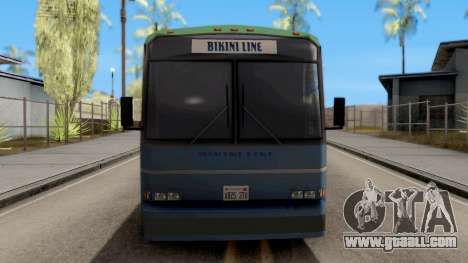 New Coach for GTA San Andreas inner view