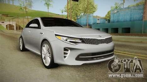 Kia Optima 2016 for GTA San Andreas