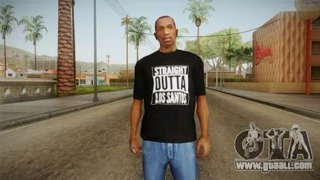 Straight Outta LS T-Shirt for GTA San Andreas second screenshot