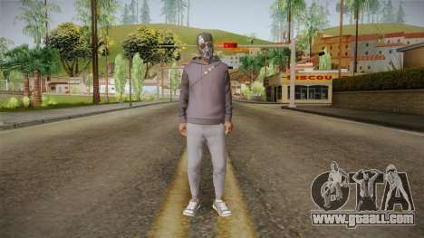 Watch Dogs 2 - Marcus v2.1 for GTA San Andreas second screenshot