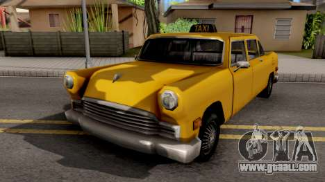 Cabbie New Texture for GTA San Andreas