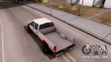 Chevrolet K3500 Silverado Crew Cab 1994 for GTA San Andreas back view