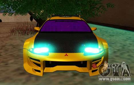 Mitsubishi Eclipse GST 1999 for GTA San Andreas back view