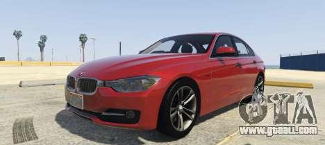 BMW 335i Sedan for GTA 5