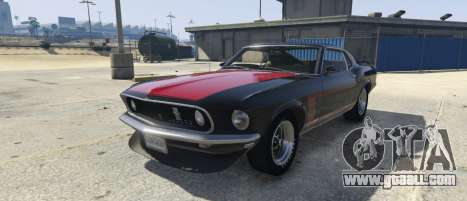 Ford Mustang Boss 302 1969 for GTA 5
