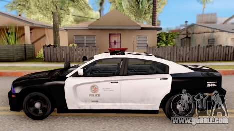 Dodge Charger Police Interceptor for GTA San Andreas left view