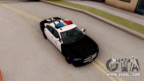 Dodge Charger Police Interceptor for GTA San Andreas right view