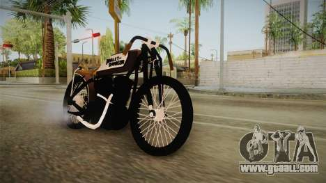 Harley-Davidson V Twin Racer 1916 for GTA San Andreas