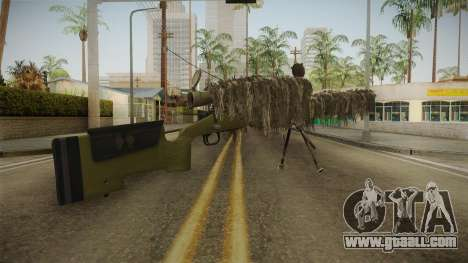 M40A3 Ghillie for GTA San Andreas second screenshot