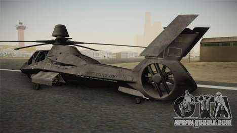 RAH-66 Comanche for GTA San Andreas left view