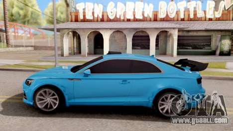 Audi S5 2017 Tuning for GTA San Andreas left view