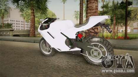 EFLC TLaD Pegassi Bati 801 for GTA San Andreas left view