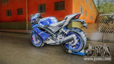 Yamaha YZF R15 3.0 for GTA San Andreas left view