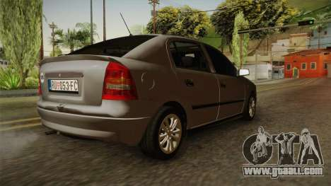 Opel Astra G 1999 for GTA San Andreas