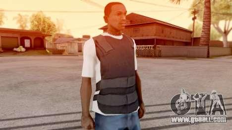 Vest top t-shirt for GTA San Andreas second screenshot