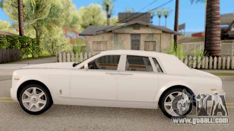 Rolls-Royce Phantom (VII) for GTA San Andreas left view