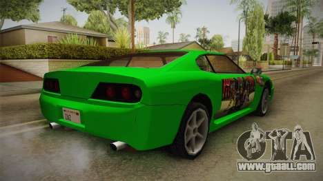 Jester Final Fantasy X Paintjob for GTA San Andreas back left view