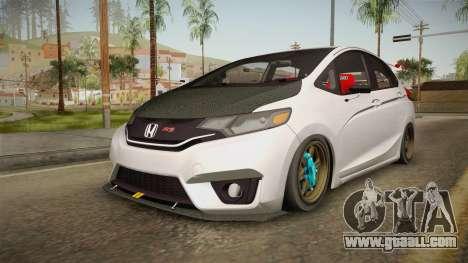 Honda Jazz GK FIT RS v2 for GTA San Andreas