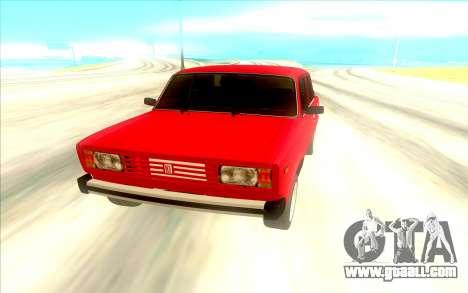Lada Riva for GTA San Andreas right view