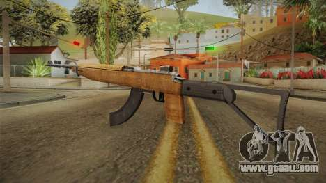 M2A1 New Stock and Magazine for GTA San Andreas second screenshot