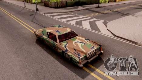 New Paintjob for Remington v3 for GTA San Andreas right view
