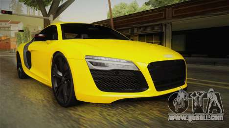 Audi R8 V10 Plus Coupe for GTA San Andreas