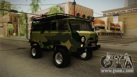 UAZ-452 Loaf Off Road for GTA San Andreas right view