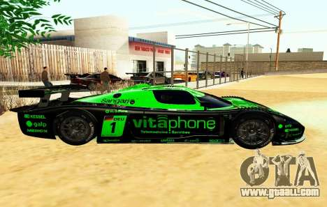 Maserati MC12 GT1 Exclusive for GTA San Andreas left view