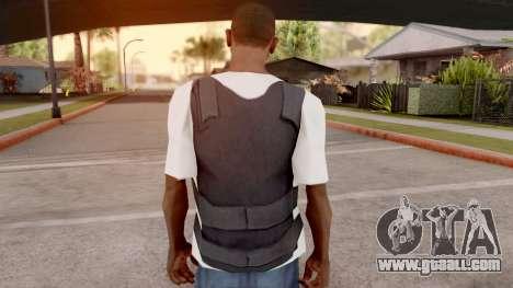 Vest top t-shirt for GTA San Andreas third screenshot