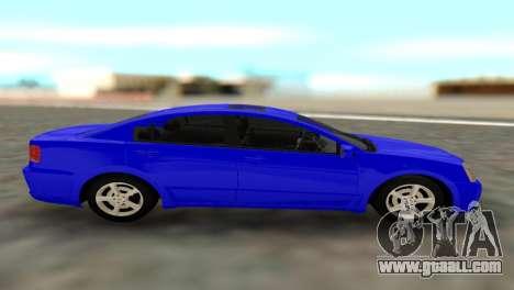 Mitsubishi Galant for GTA San Andreas back left view
