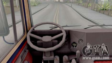 MAZ 642208 for GTA San Andreas inner view