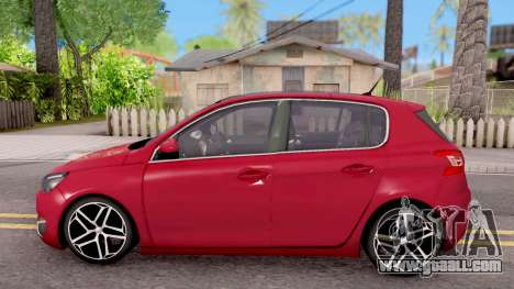Peugeot 308 2016 for GTA San Andreas left view