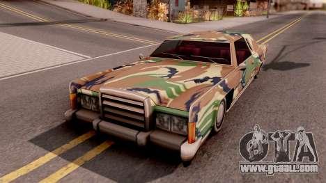 New Paintjob for Remington v3 for GTA San Andreas