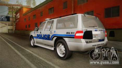 Ford Expedition 2013 SAWPD for GTA San Andreas left view