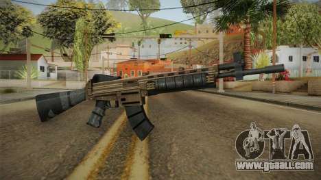 World War Z - Assault Rifle for GTA San Andreas second screenshot