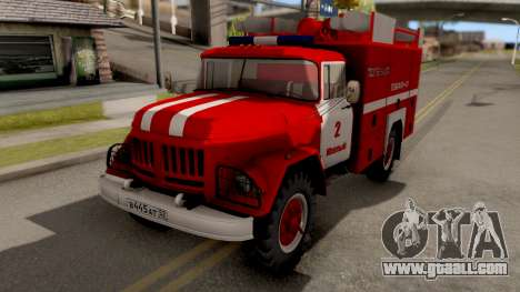 ZIL-130 AMUR Fire for GTA San Andreas