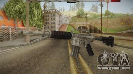 CS:GO - M4A1-S Basilisk No Silencer for GTA San Andreas second screenshot