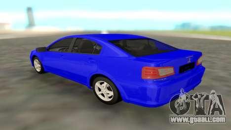 Mitsubishi Galant for GTA San Andreas left view