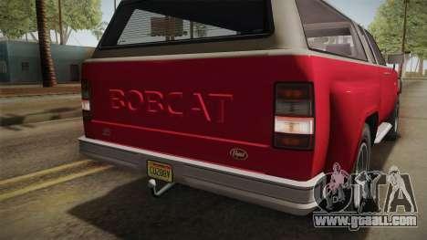 GTA 5 Vapid Bobcat XL IVF for GTA San Andreas side view