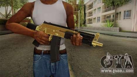 AK-12 Gold for GTA San Andreas