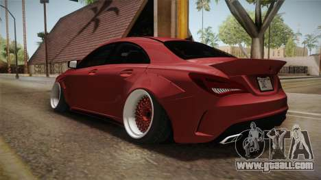 Mercedes-Benz CLA 45 AMG WideBody 2014 for GTA San Andreas back left view
