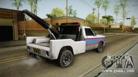 Whetstone Forasteros Vehicle for GTA San Andreas left view