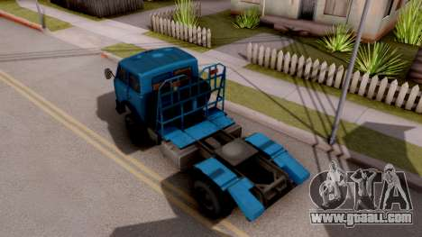 MAZ 509А Timber for GTA San Andreas back view