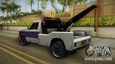 Whetstone Forasteros Vehicle for GTA San Andreas back left view