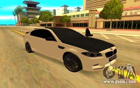 BMW M5 F10 Hamann for GTA San Andreas