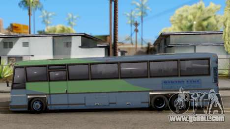 New Coach for GTA San Andreas left view