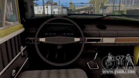 VAZ 2101 Kopeyka Stoke for GTA San Andreas inner view