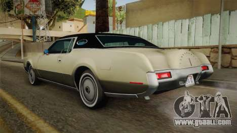 Lincoln Continental Mark IV 1972 for GTA San Andreas left view