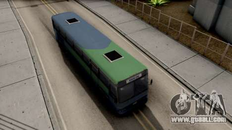 New Coach for GTA San Andreas right view
