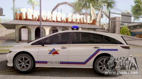 Dinka Perennial MPV Hometown PD 2010 for GTA San Andreas left view